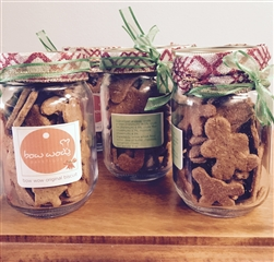 holiday treat jar