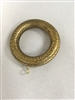 2½ ID ANT. GOLD Crackle Wood Rings Set (4)