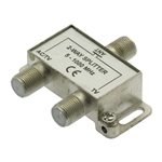 2 Way AC Power Pass Splitter