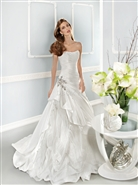 Cosmobella by Demetrios Bridal 7677