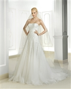 Cosmobella by Demetrios Bridal 7714A