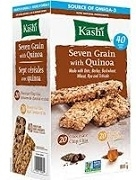 KASHI SEVEN GRAIN WITH QUINOA 40 CRUNCHY BARS