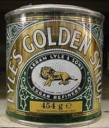 TATE & LYLE'S BLACK TREACLE AND GOLDEN SYRUP (12 CANS)