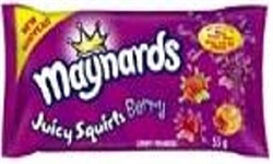 MAYNARDS JUICY SQUIRTS BERRY 18 PACKS (1)
