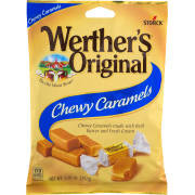 WERTHER'S ORIGINAL CHEWY CARAMEL 158g(12)