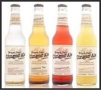 BRUCE COST GINGER ALE BOTTLES IMPORTED (24)
