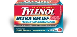 TYLENOL ULTRA RELIEF EXTRA STRENGTH 20 TABLETS
