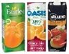 APPLE, CRANBERRY or ORANGE JUICE 1L CARTONS