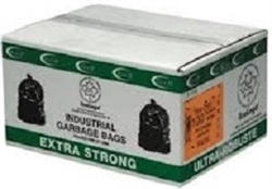 GARBAGE BAGS 26 x 36 EXTRA STRONG BLACK & CLEAR