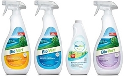 BIO-VERT HOUSEHOLD BIODEGRADABLE CLEANERS VOC FREE (12)