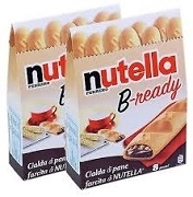 "NUTELLA FERRERO ""B-ready"" FILLED WAFERS (6)"