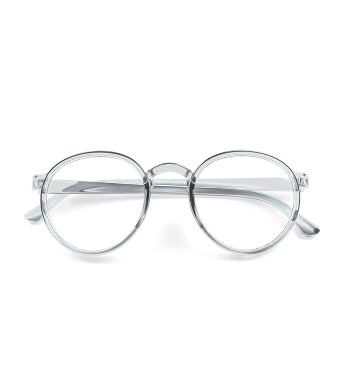 Clear Lens Round Glasses