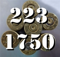 223 Brass Cases Once Fired Brass for Reloading