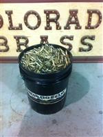 223 once fired brass 5 gallon bucket