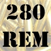 280 Rem once fired brass cases for reloading