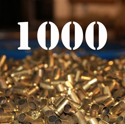 357 Sig once fired brass cases for reloading