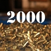 40 S&W once fired brass cases for reloading