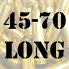 45-70 Long once fired brass cases for reloading