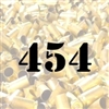 454 Casull once fired brass cases for reloading