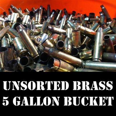 Unsorted Bulk Brass Cases for Reloading