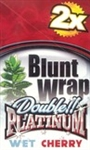Blunt wrap double platinum - wet cherry - pack of 2 @ ICEHeadshop.co.uk