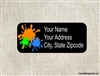 Address Label - Paintball