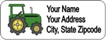 Address Label - John Deere Tractor