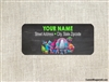 Trolls address labels birthday party