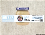 1st Birthday Baby Food Jar Label First Birthday Party Favors