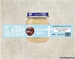 Baptism Baby Food Jar Label