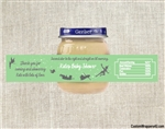 Peter Pan baby shower party favors, Peter pan baby food jar labels