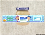 Bubble Guppies baby food jar labels, Bubble Guppies birthday party favors