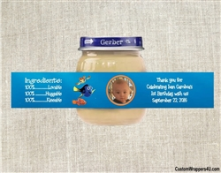 Finding Nemo baby food jar labels, Finding Nemo birthday party favors, photo baby food jar labels