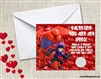 Big Hero 6 Valentine's Day Cards