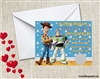 Toy Story Valentine's Day Cards