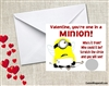 Despicable Me Minion Valentine's Day Cards