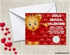 Daniel Tiger's Neighborhood Valentine's Day Cards