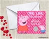 Peppa Pig Valentine's Day Cards