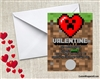MInecraft Valentine's Day Cards