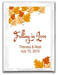 Wedding Hot Chocolate Label - Falling in Love