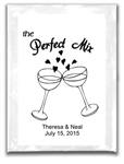 Wedding Hot Chocolate Label - Perfect Mix
