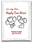 Wedding Hot Chocolate Label - Happily Ever After