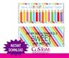 Back To School Candy Wrapper instant download