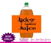Halloween soda bottle label Jack-O-Lantern Juice instant download