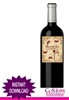Halloween wine bottle label instant download BLOODEAUX