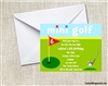 Mini Golf Birthday Party Invitation