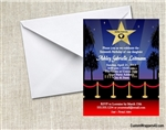 Birthday Invitation - Hollywood