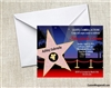 Birthday Invitation - Hollywood Star