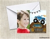 Birthday Invitation - Monster Truck with Photo