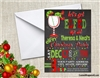 Christmas Holiday Party Invitation Holly Jolly Holiday Party